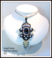 Go to Soutache Bead Embroidered Pendant Info Page