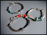 Go to Double Viking Knit Bracelet Info Page