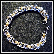 Go to Light and Colorful Chainmail Jewelry Info Page