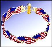 Go to Wave Flag Bracelet Info Page