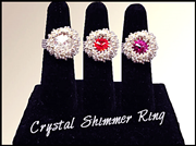 Go to Crystal Shimmer Ring Info Page